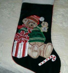 Новогодний носок подарок!