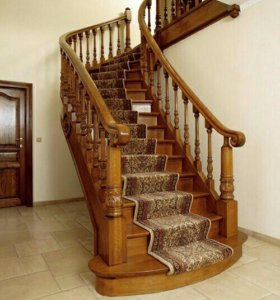 Изготовление лестниц и реставрация
