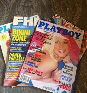 Иностранные журналы Playboy