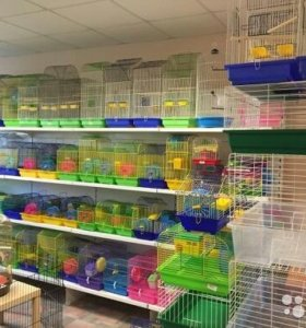 клетки для грызунов разные