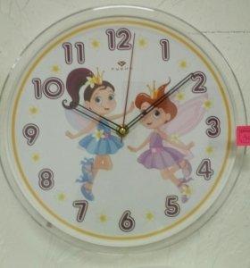Часы настенные феи