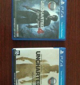 Коллекция Uncharted на Ps4.