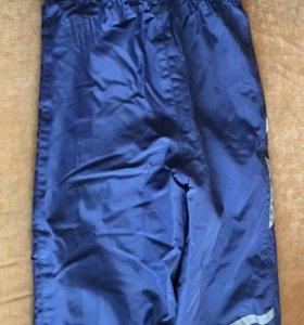 Зимние детские штаны Lenne рост 104, синие