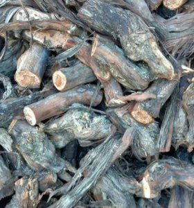 Дрова виноградной лозы