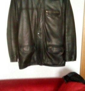 Куртка зимняя натуральная кожа