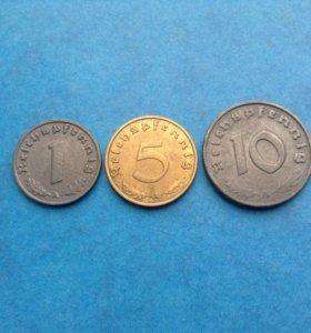 Монеты Германии 3-Й рейх