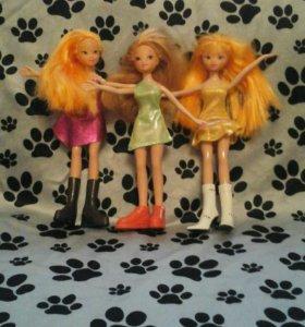 Три куклы