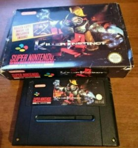 Killer instinct for Super Nintendo (Snes) PAl