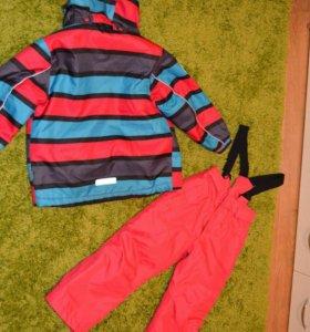 Color kids куртка и штаны в идеальном состоянии