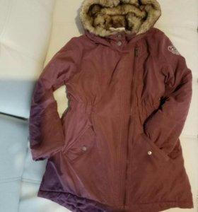 Куртка для девочки холодная осень, зима