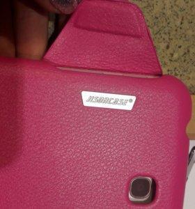Новый Чехол на Samsung galaxy tab кожаный