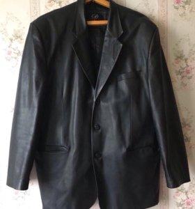 Пиджак кожаный мужской 54 размер