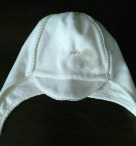 Новая плюшевая шапочка-буденовка