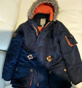 Куртка для мальчика холодная осень, зима