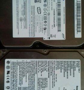 Жесткий диск Samsung и seagate