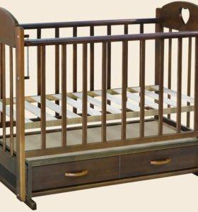 Продам детскую кровать и матрац