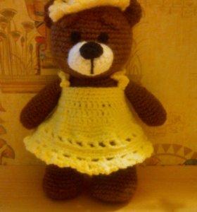 Вязаная медведица