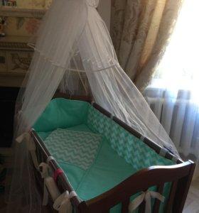Детская кроватка-люлька