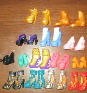 Обувь для кукол Монстр хай и Эвер афтер хай