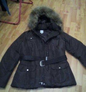 Куртка зимняя,пух-перо.