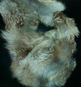 Горжетка (натуральный мех, лиса)