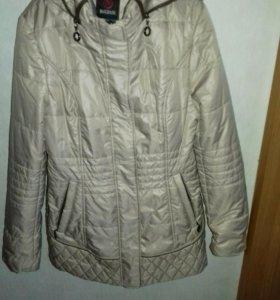 Куртка удлиненная, приталенная