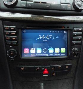 Car multimedia system для Mercedes w211