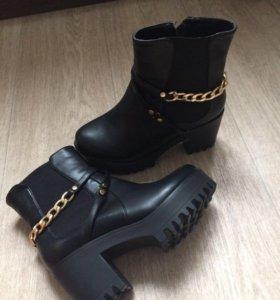 Ботинки зима (новые)