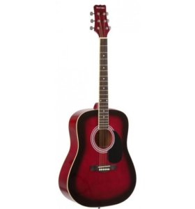 Акустическая гитара - Martinez FAW-702/TWRS