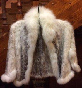 Болеро из вязаной норки☝🏻