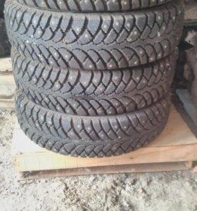 Зимние шины на авто Daewoo Matiz. 155/65 R13