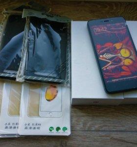 Xiaomi 4a 2/16гб Подарок: чехол, 2 плёнки