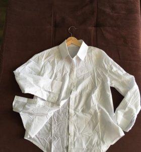 Рубашка классическая белая