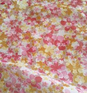 Ткань Батист 2054-16 блузочно-плательный.