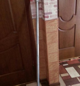 Гриф 165см, 25мм, с замками втулка.