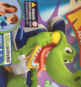 "Новая игрушка""КрокоДантист""."