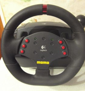 Руль для ПК Logitech MOMO Racing Force Feedback