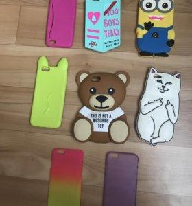 Чехлы для iPhone 5, 5s, 6, 6s