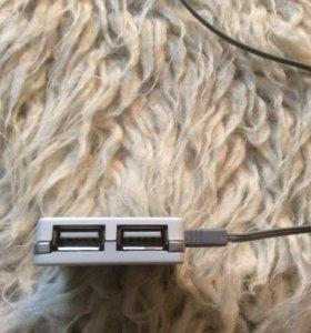 USB розетка переходник