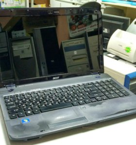 Ноутбук Acer Aspire 5738Z 2 ядра 4 гига