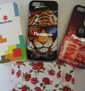 Чехлы-накладки для IPhone 5 и 5s