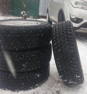 Зимние колёса Рено