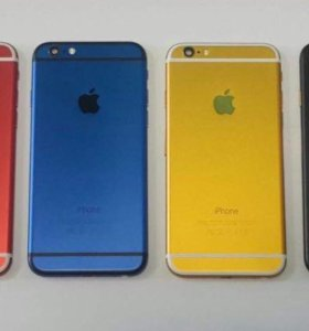 Цветные корпуса на iPhone