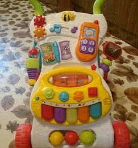 Ходунки-каталка толокар WinFun для малышей