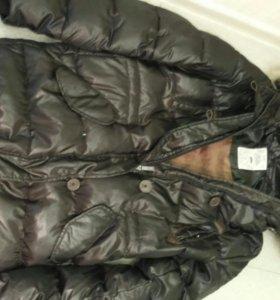 Куртка пуховик разм 46 48