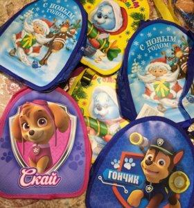 Новогодние рюкзаки