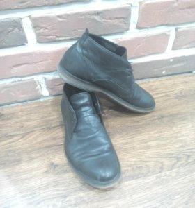 Кожаные туфли чукка р.41