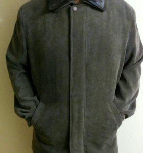 Куртка мужская, вельвет+подкл.кролик, 54 р.