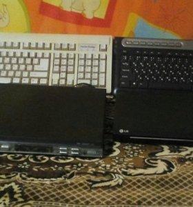 Срочно отдам 2dvd, 2 клавиатуры, и 1видак