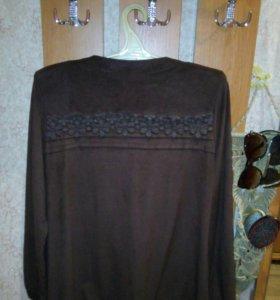 Блузка под замшу